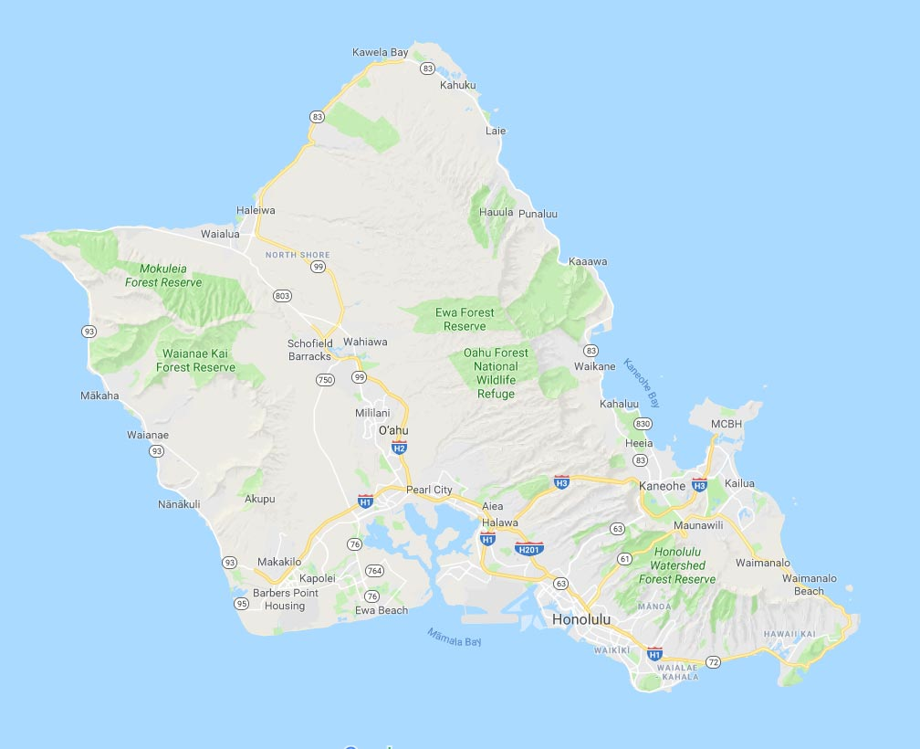 Oahu Security System Territory